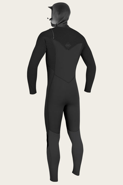 HYPERFREAK 4/3+MM CHEST ZIP W/HOOD FULL WETSUIT