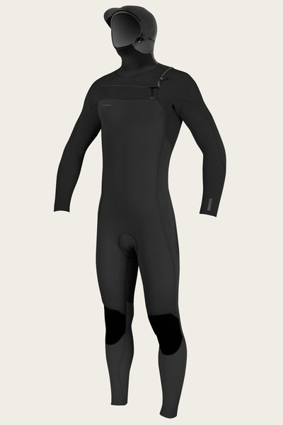 HYPERFREAK 5/4+MM CHEST ZIP W/HOOD FULL WETSUIT