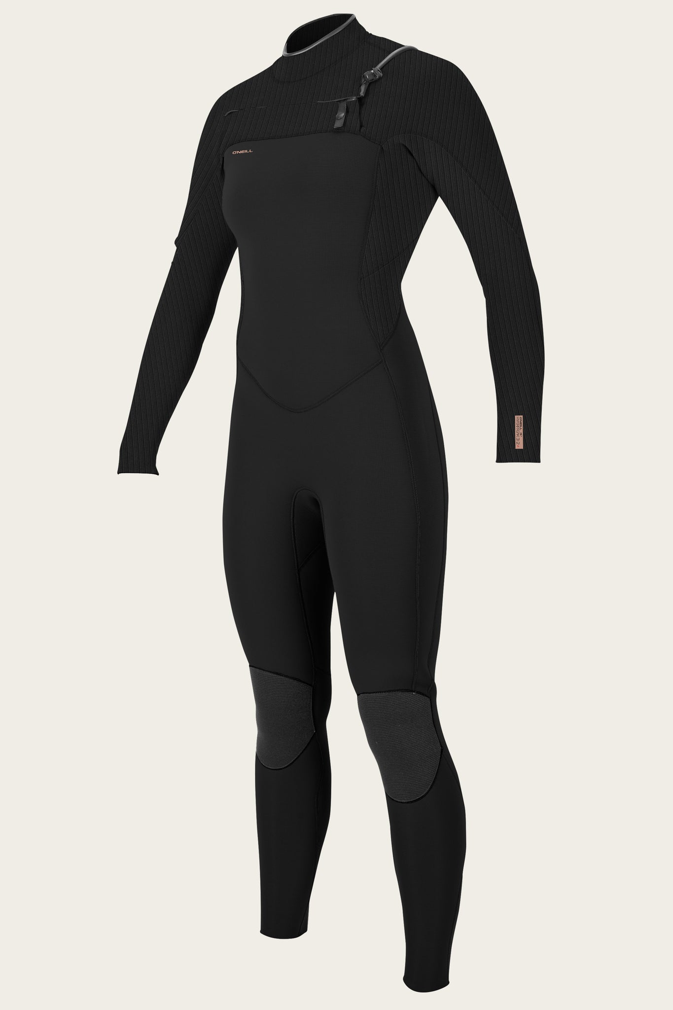 Women'S Hyperfreak 3/2+Mm Chest Zip Full Wetsuit - Black/Black | O'Neill