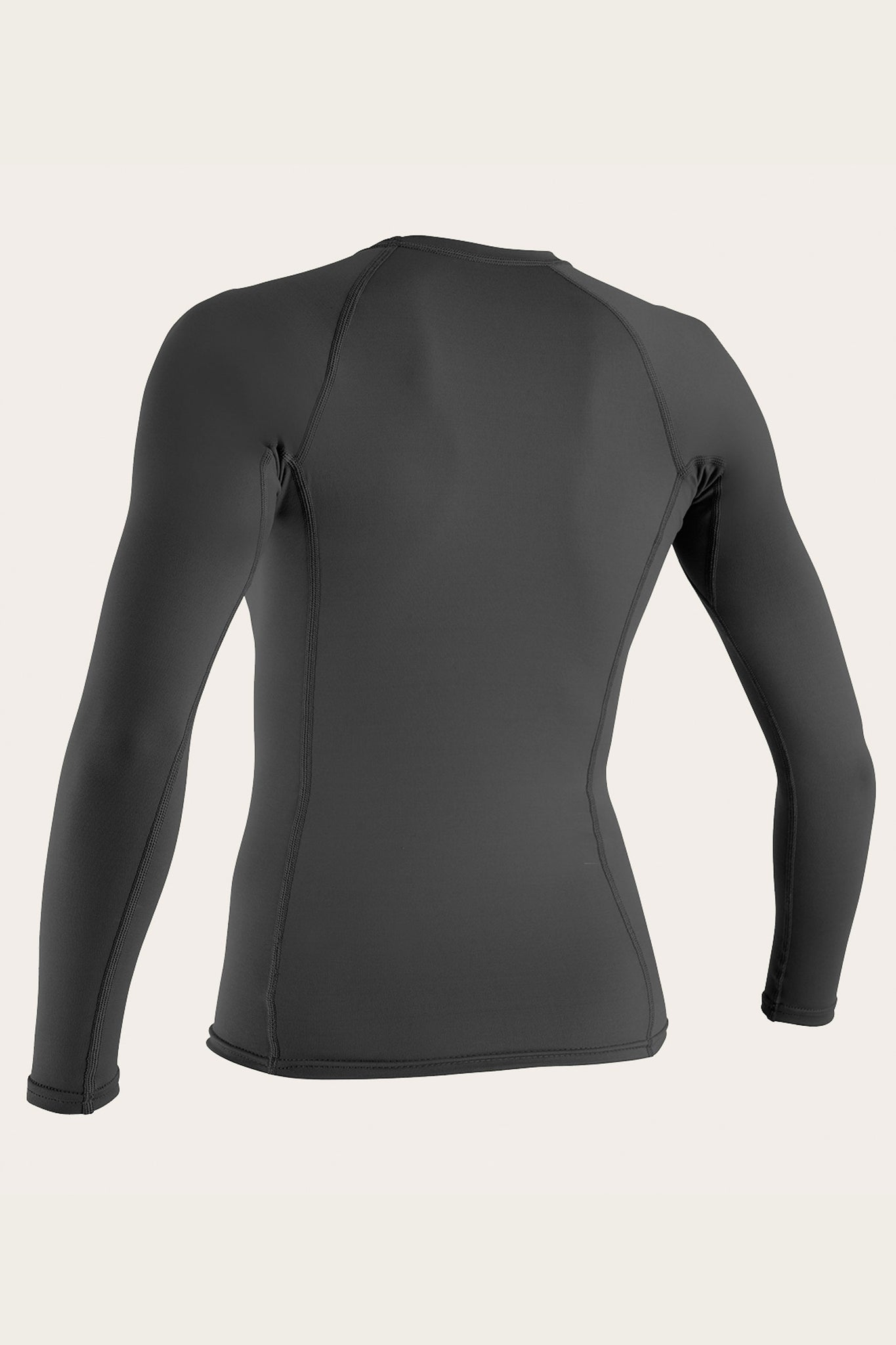 Women'S Basic 50+ L/S Rash Guard - Graphite | O'Neill
