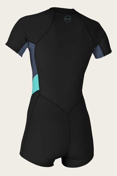 Women'S Bahia 2/1Mm Front Zip S/S Spring Wetsuit | O'Neill Clothing USA