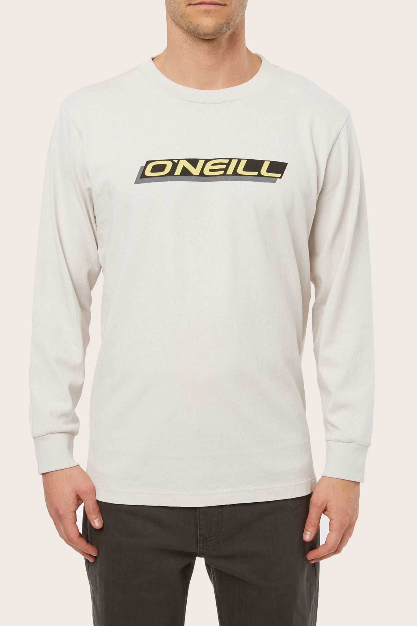 Worker Long Sleeve Tee - Fog | O'Neill