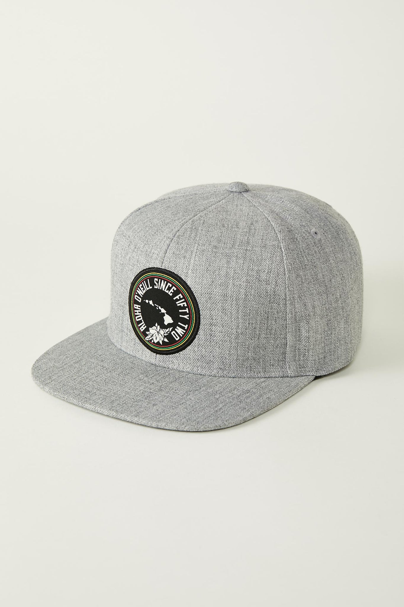 Aina Snapback Hat - Heather Grey | O'Neill