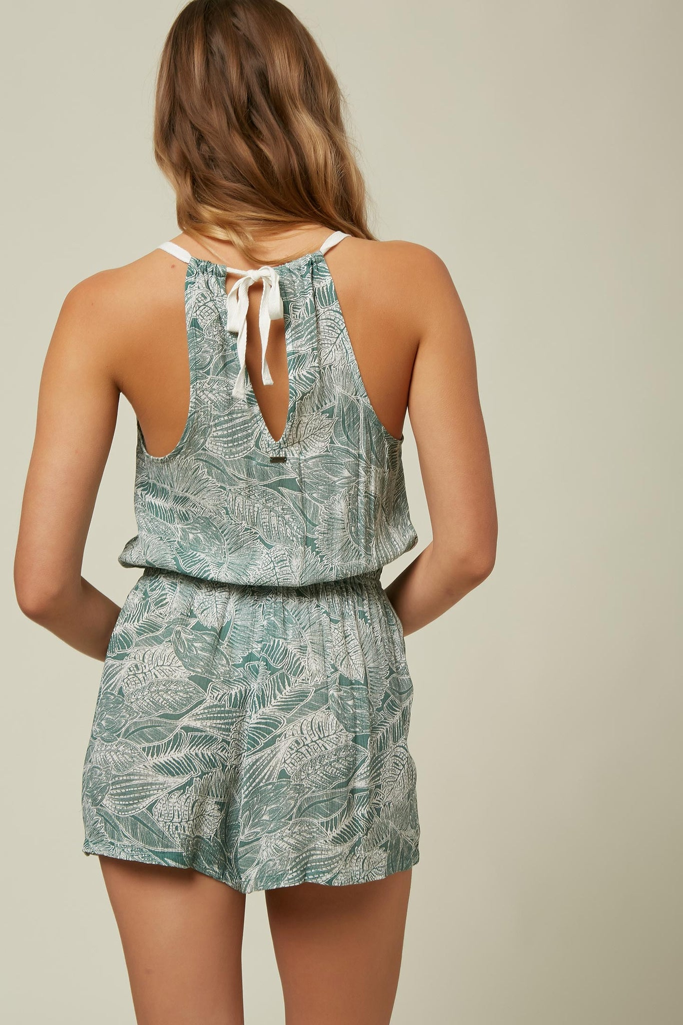Alex Palm Romper - Washed Spruce | O'Neill