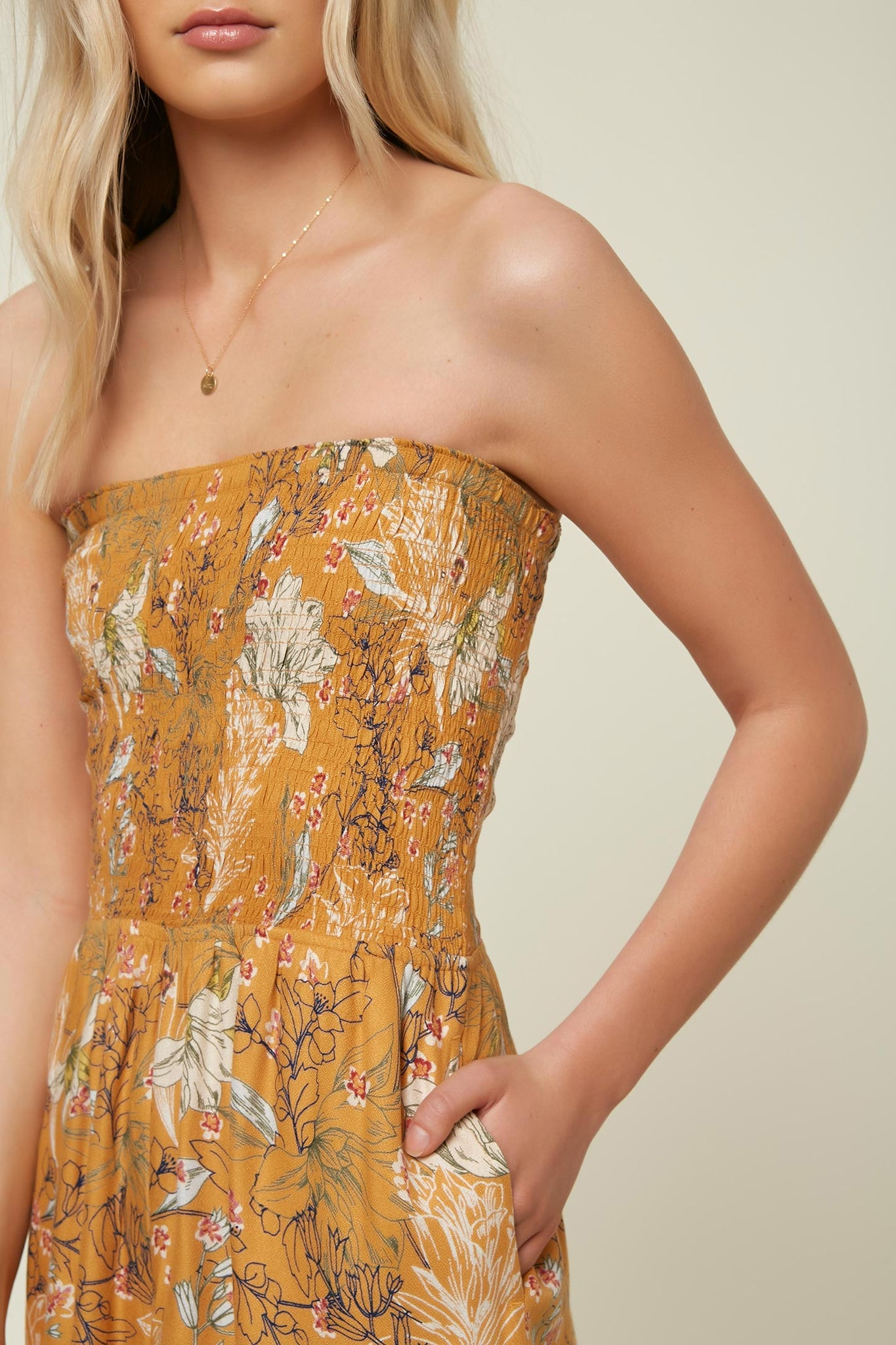 Alicia Jumpsuit - Sunflower | O'Neill