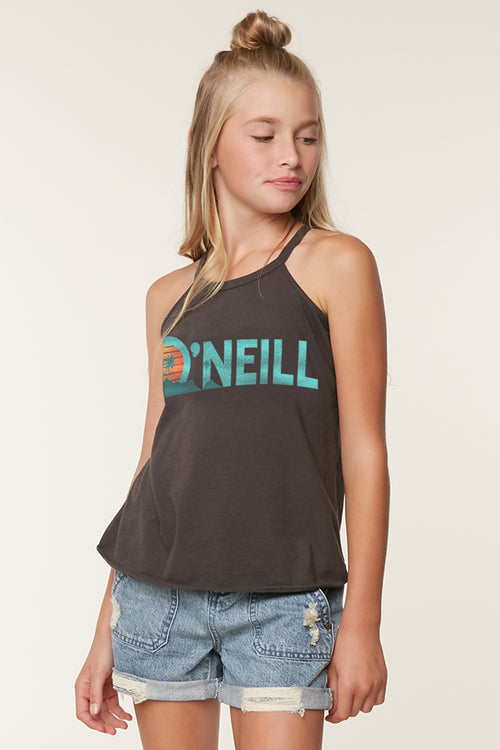 GIRLS ALOHA BEACH TANK