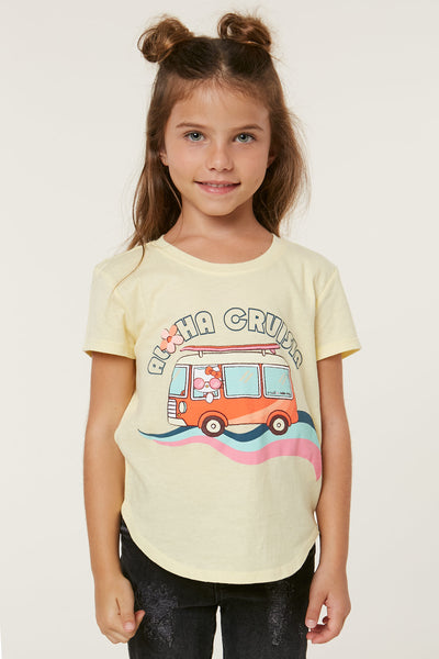 HELLO KITTY X ONEILL ALOHA CRUISIN TEE