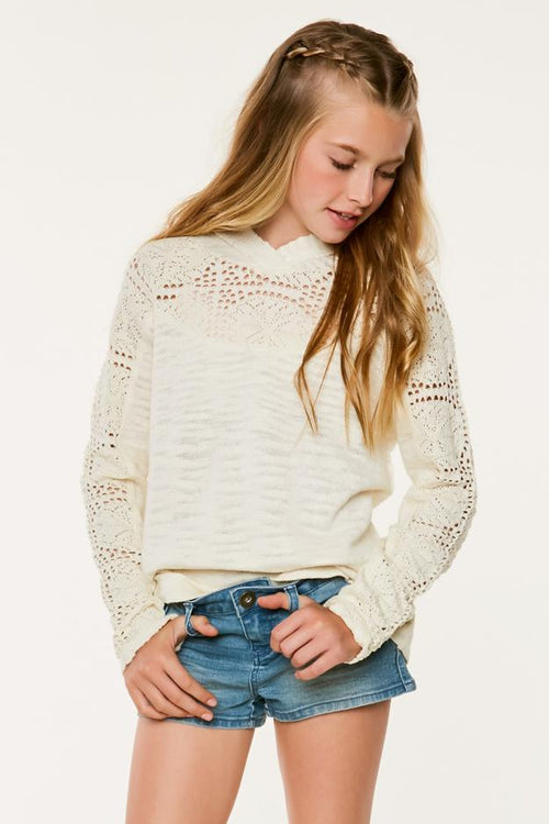 GIRLS AMORE SWEATER