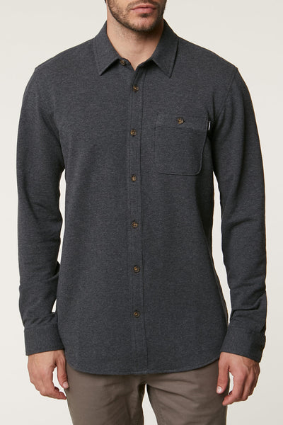 ANTON LONG SLEEVE KNOVEN SHIRT