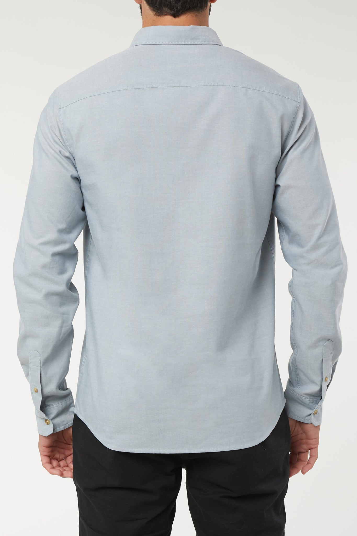 Banks Long Sleeve Shirt - Light Blue | O'Neill