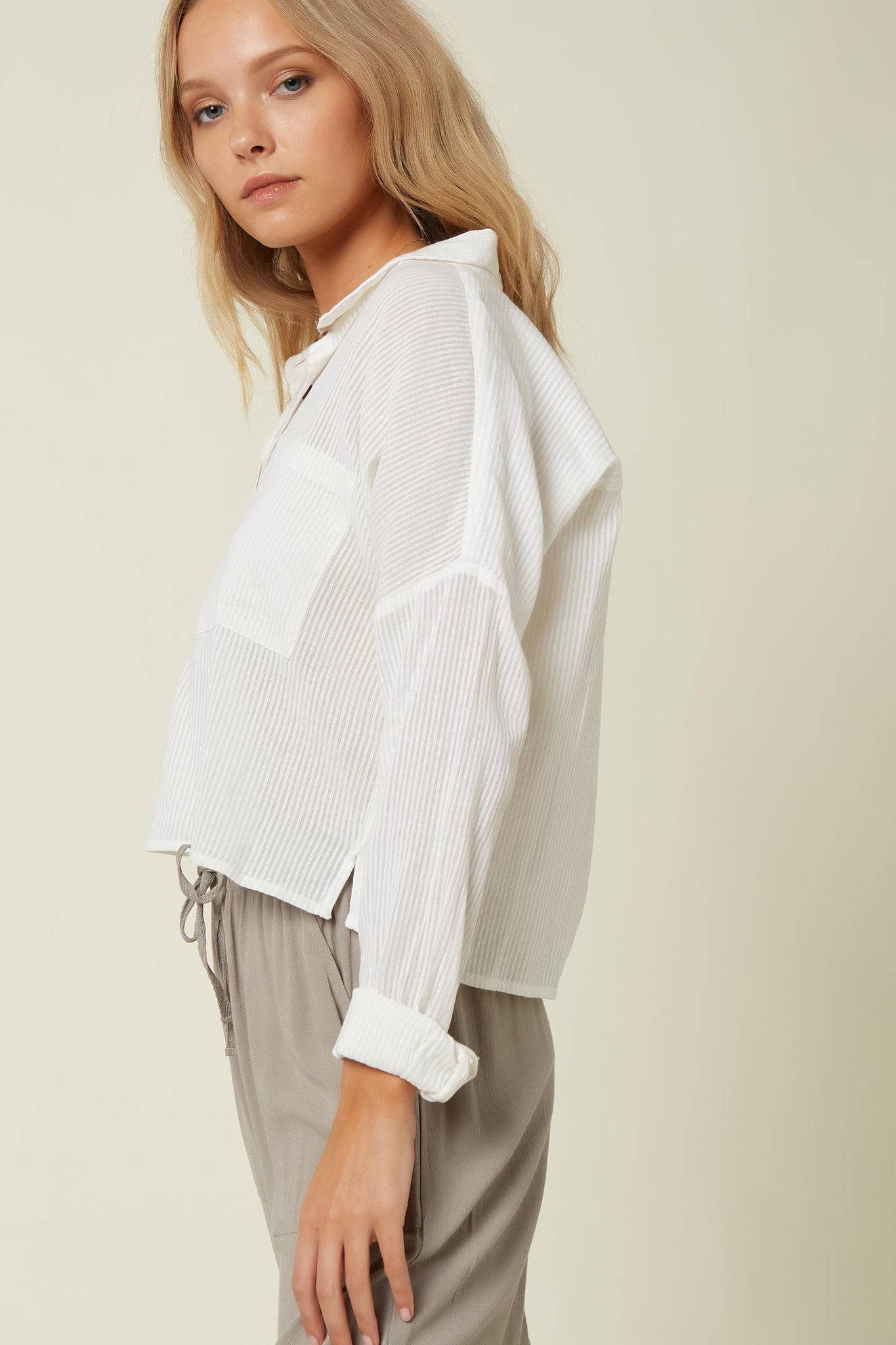 Barlea Long Sleeve Top - White | O'Neill