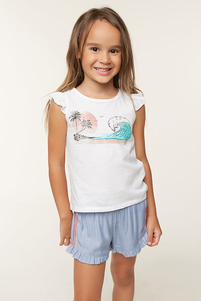 LITTLE GIRLS BAY SHORTS