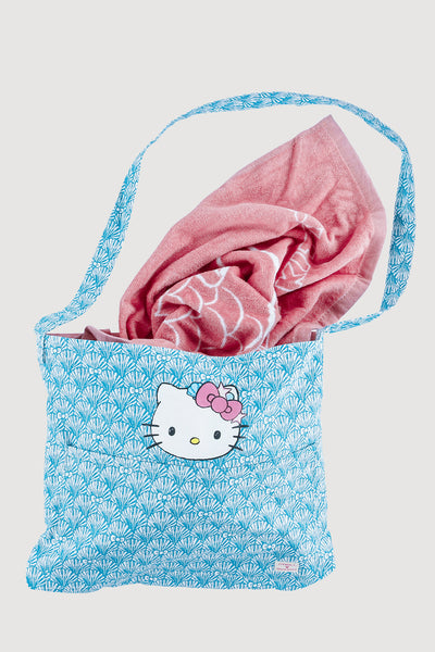 HELLO KITTY X O'NEILL BEACH DAY CONVERTIBLE TOTE/TOWEL