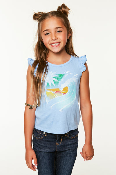 LITTLE GIRLS BEACH DREAMS TANK