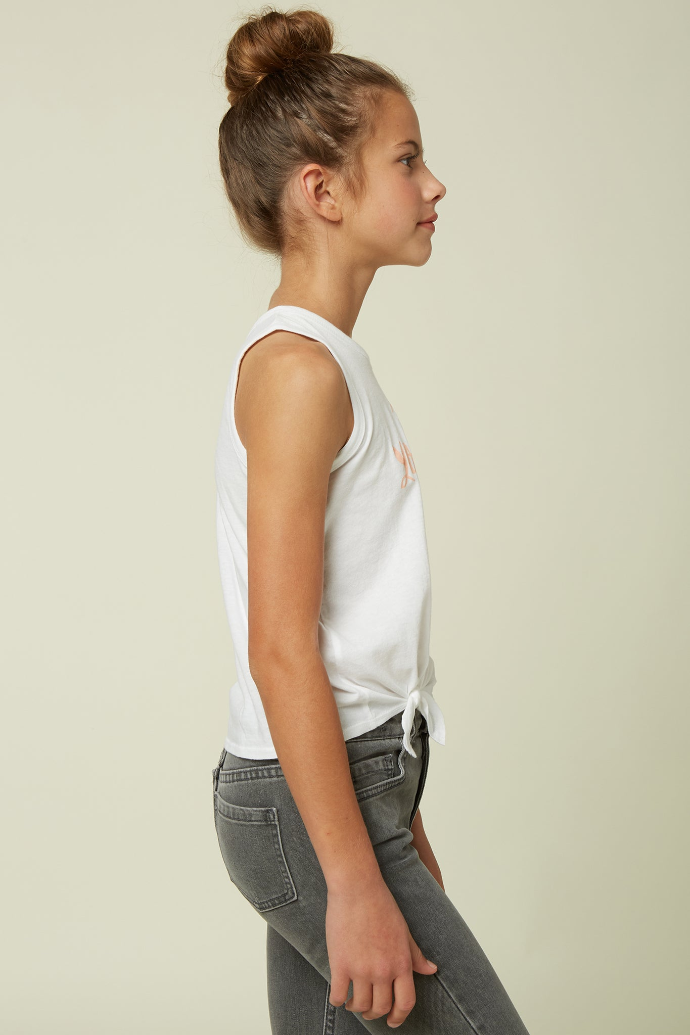 Girls Be Yourself Tank - White | O'Neill
