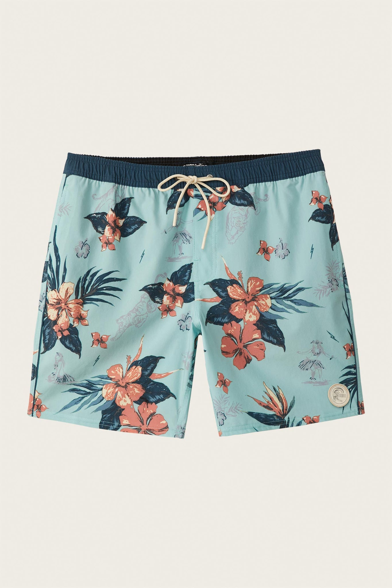 Bloom Volley Boardshorts - Sea Foam | O'Neill