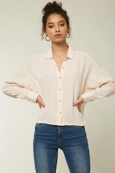 BRAXTON BUTTON UP TOP