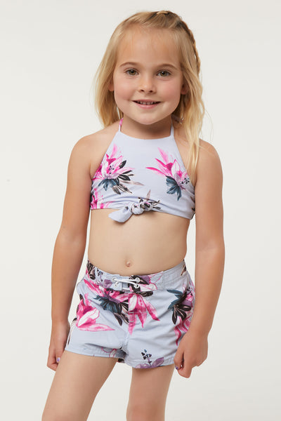 "LITTLE GIRLS BREEZE 2"" BOARDSHORTS"