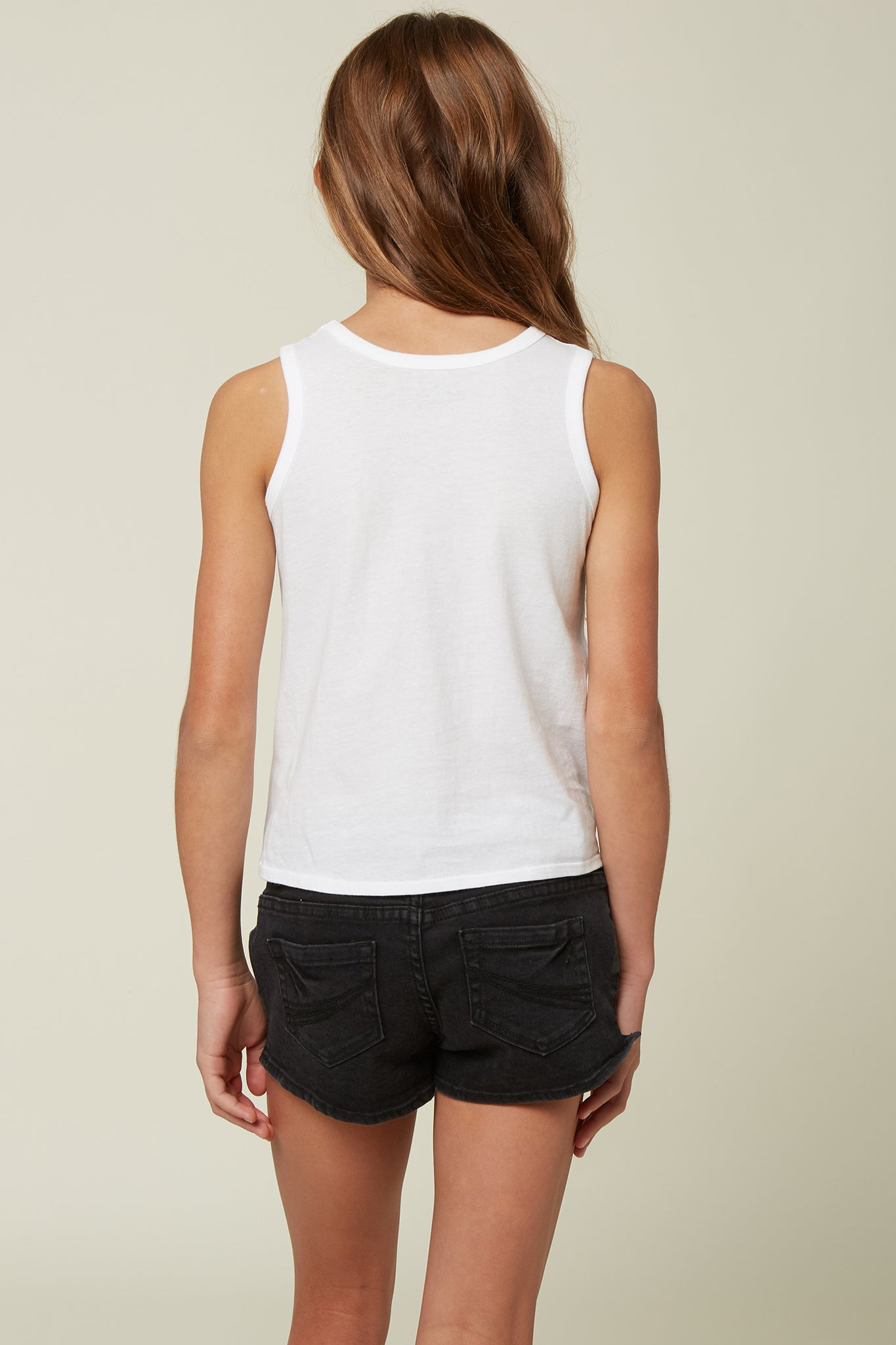 Girls Breezy Tank - White | O'Neill