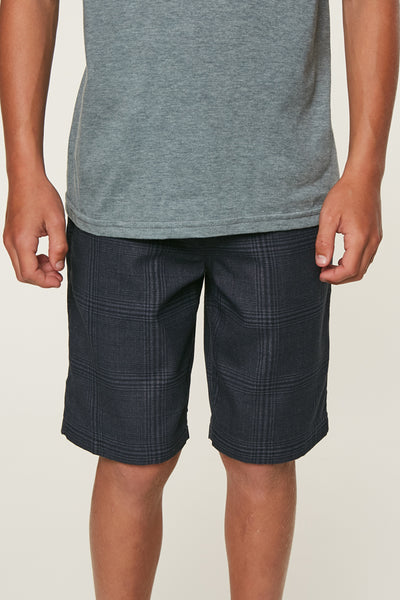 BOYS BRISTOL PLAID SHORTS