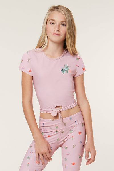 4be4063eec GIRLS CACTI RASH GUARD TOP