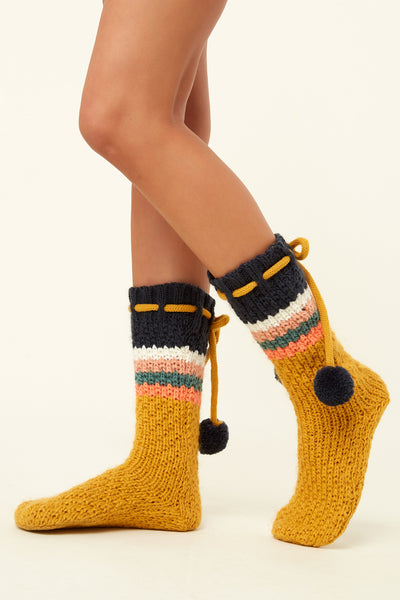 Carmel Slipper Socks | O'Neill
