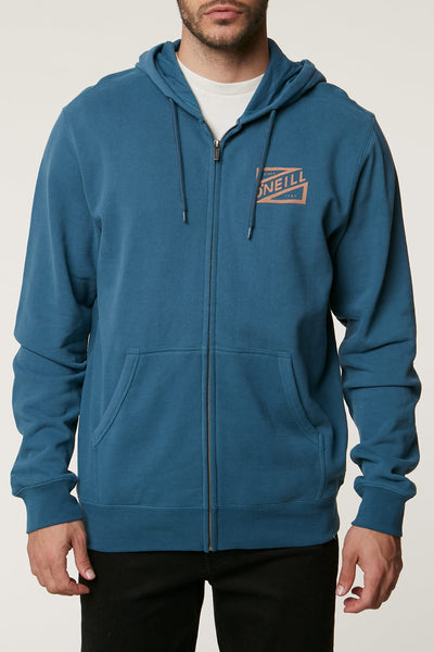 CHALKED UP ZIP UP HOODIE