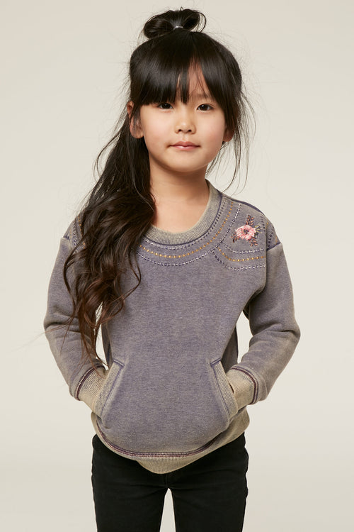 LITTLE GIRLS CHARLOTTE PULLOVER