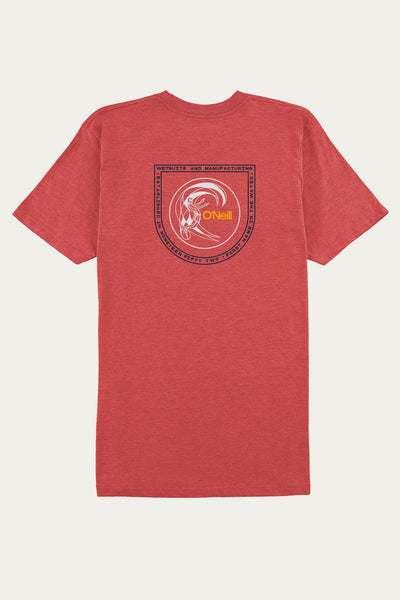 CIRCLED UP POCKET TEE