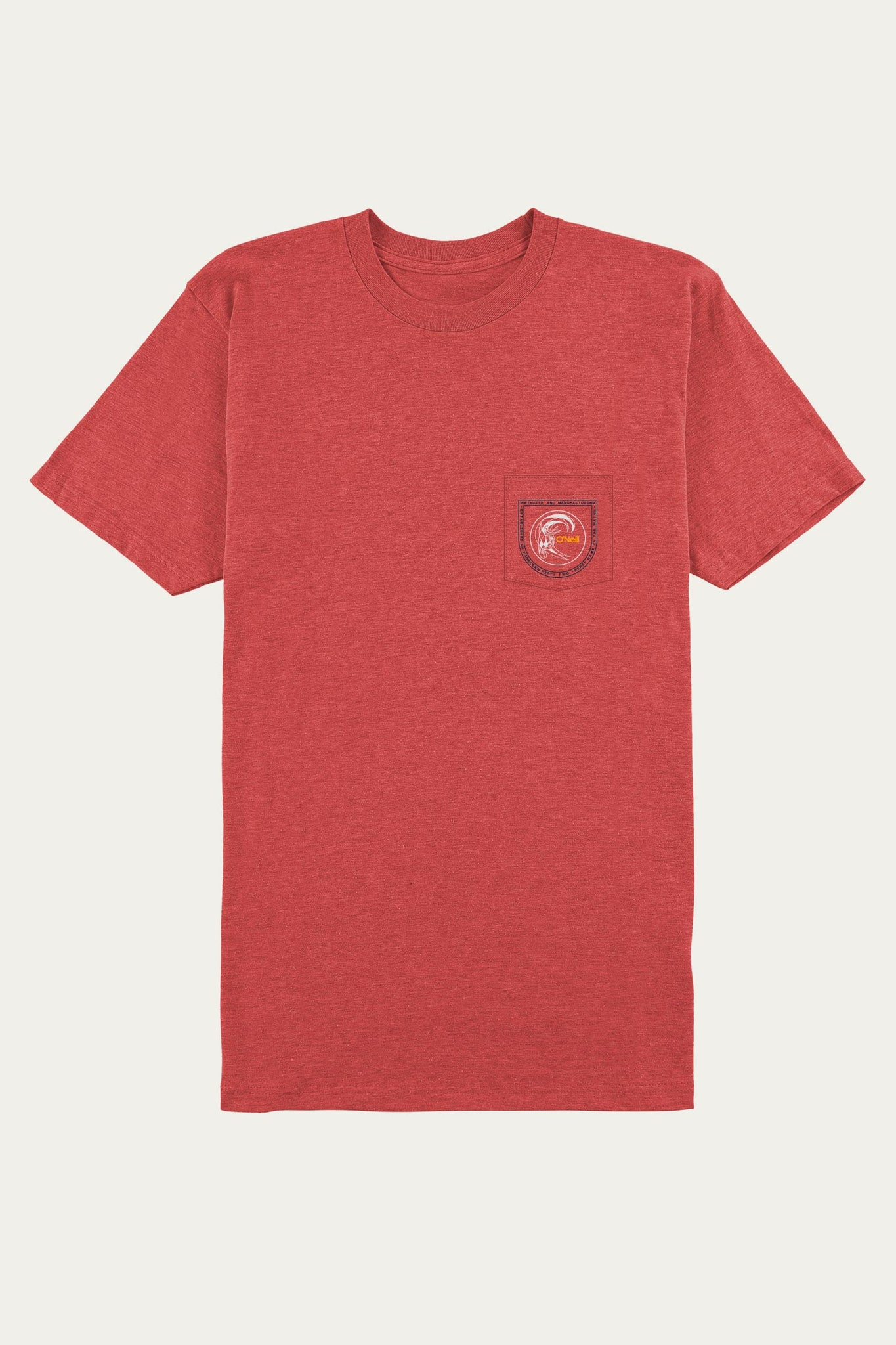 Circled Up Pocket Tee - Red Heather | O'Neill