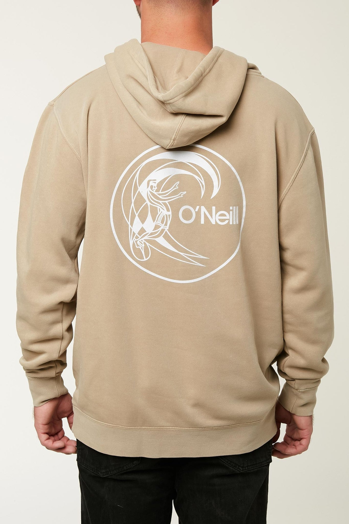 CIRCLE SURFER HOODED PULLOVER