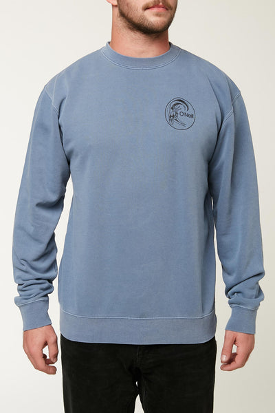CIRCLE SURFER CREW PULLOVER
