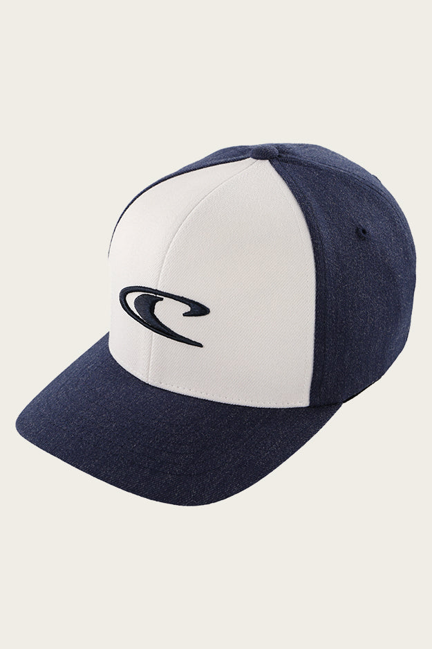 Boys Clean And Mean Hat - Navy W/ White | O'Neill