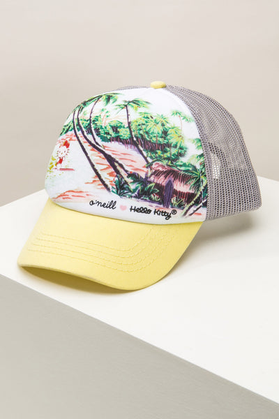 HELLO KITTY X O'NEILL CLEAR DAY HAT