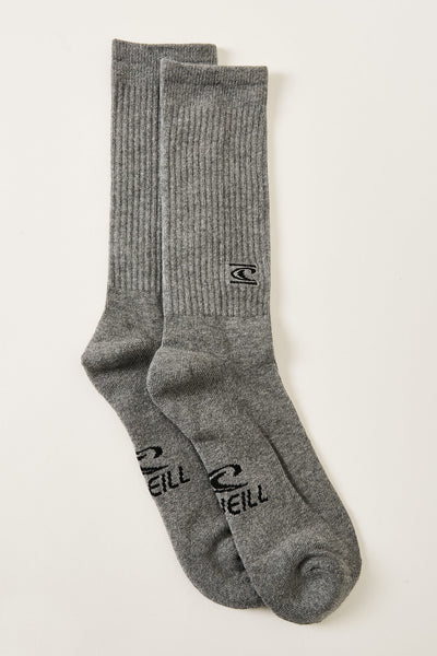 Commons 3 Pack Crew Socks | O'Neill Clothing USA