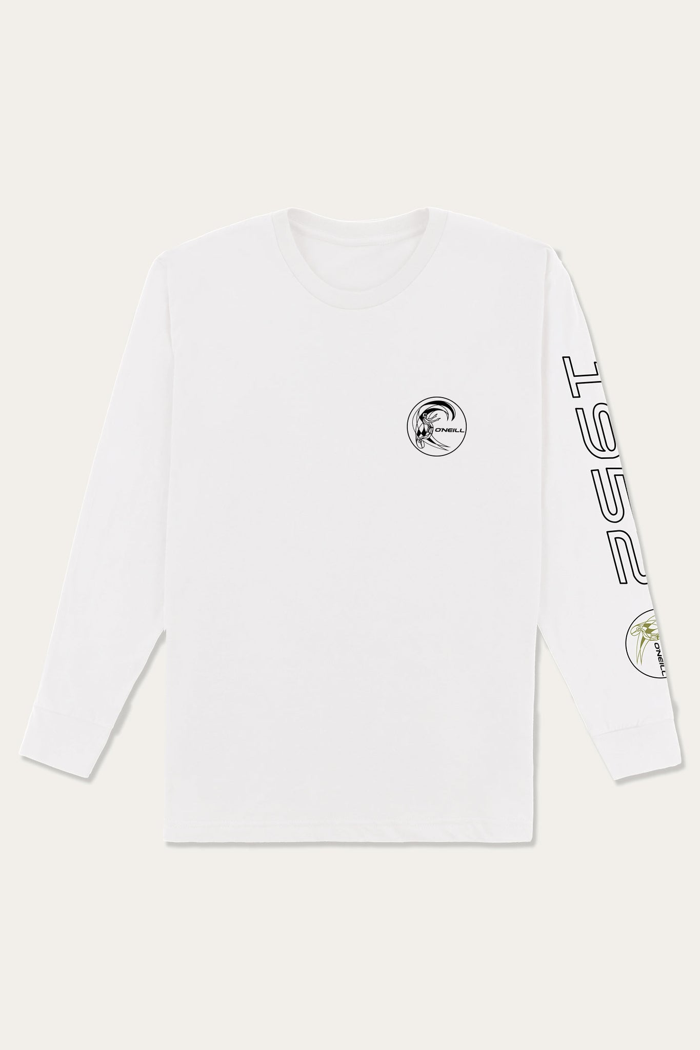 Competition Long Sleeve Tee - White | O'Neill
