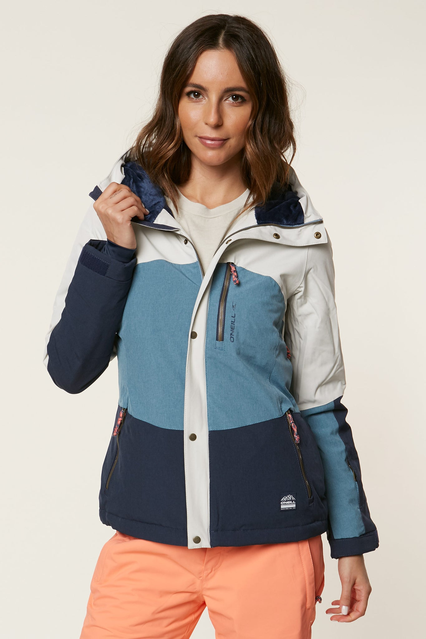 Coral Snow Jacket - Ink Blue | O'Neill