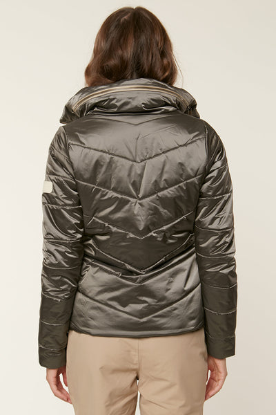 CRYSTALINE HYBRID SNOW JACKET