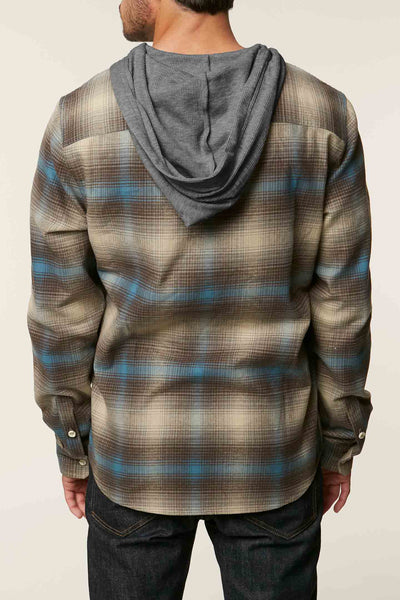 CULTIVATE HOODED FLANNEL
