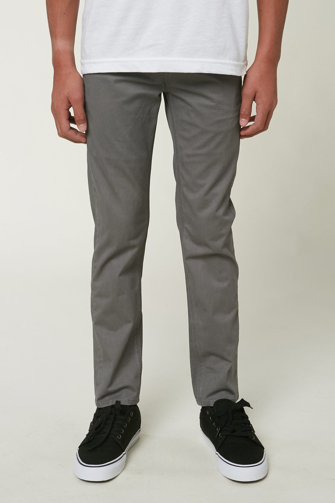 Boys Cyd Modern Chino Pants - Gun Metal | O'Neill