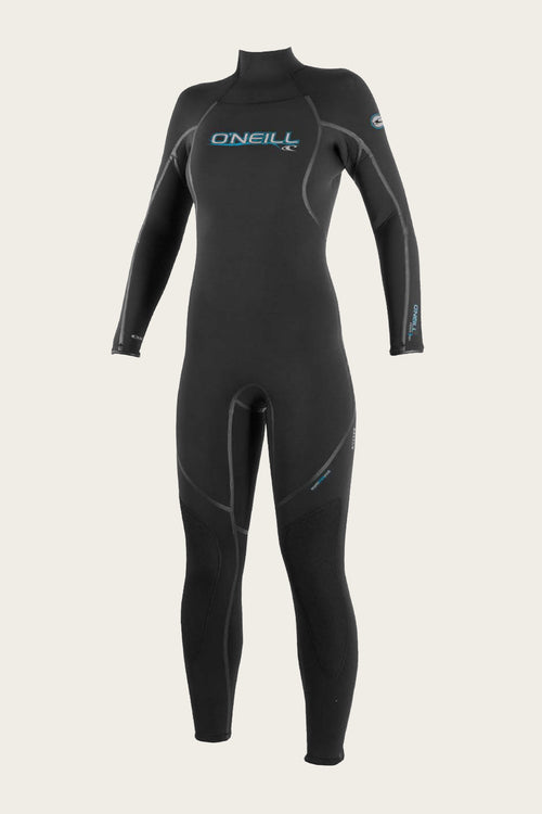 WOMEN'S SECTOR 5MM BACK ZIP FULL WETSUITS