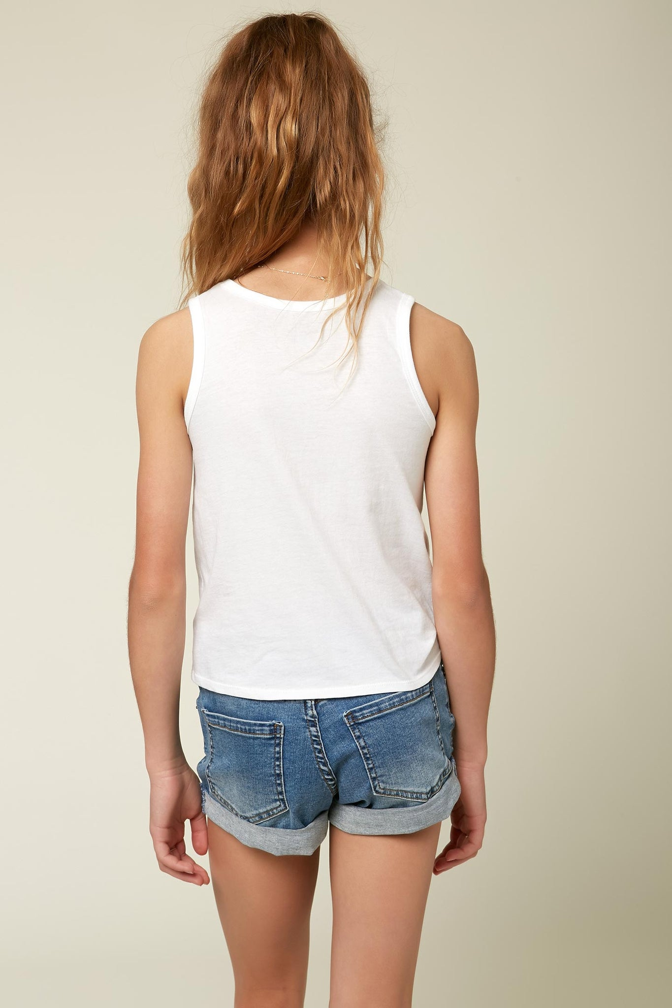 Girls Daisy Days Tank - White | O'Neill