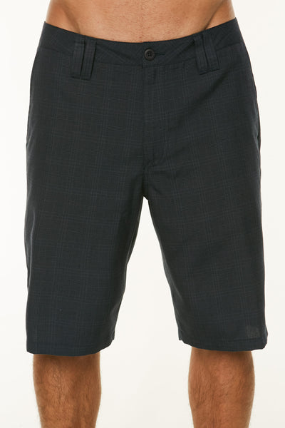 DELTA PLAID SHORTS