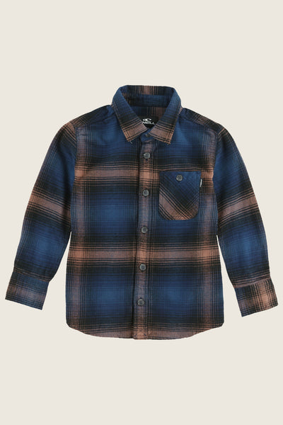 LITTLE BOYS DILLISHAW FLANNEL SHIRT