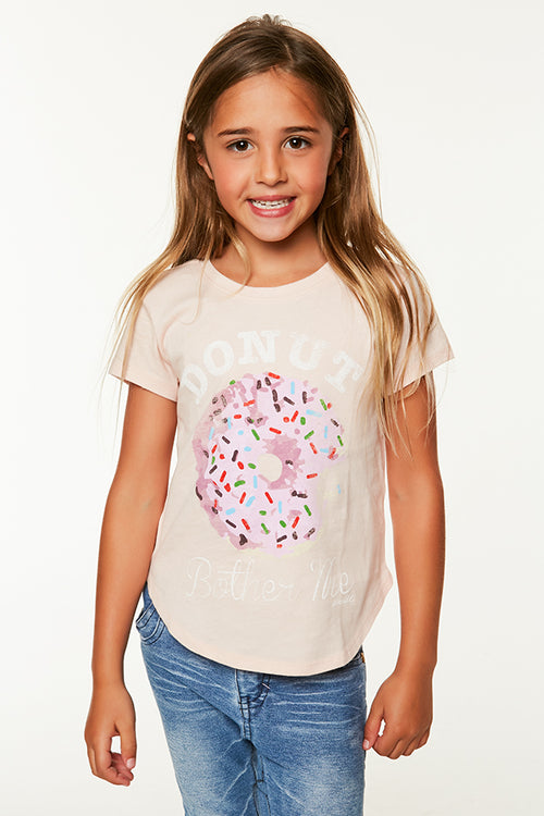 LITTLE GIRLS DONUT TEE