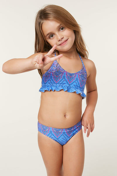 LITTLE GIRLS EVIE BRALETTE SWIM SET
