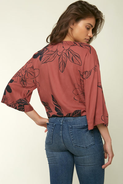 EVIE FLORAL TOP