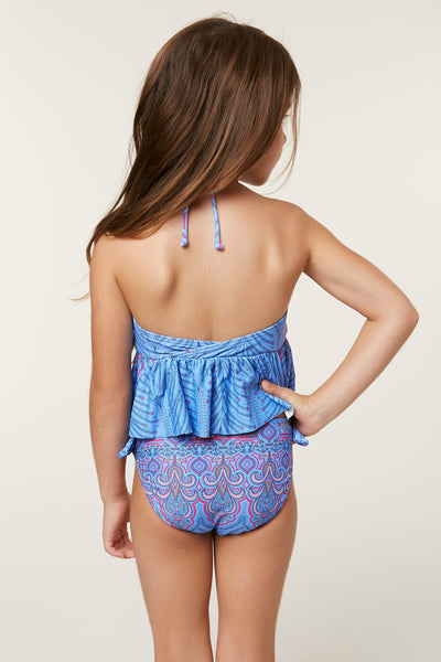 LITTLE GIRLS EVIE TANKINI SWIM SET