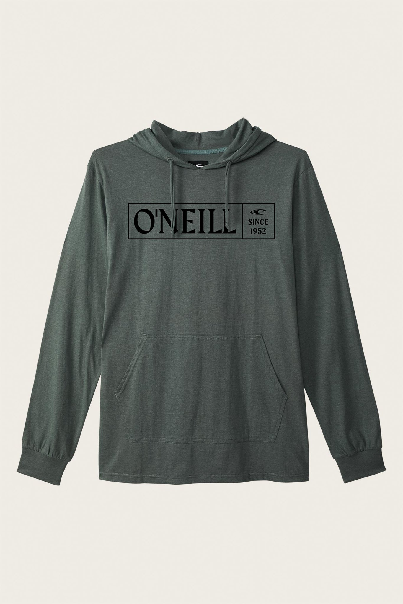 Fields Hooded Pullover - Washed Ivy Heather | O'Neill