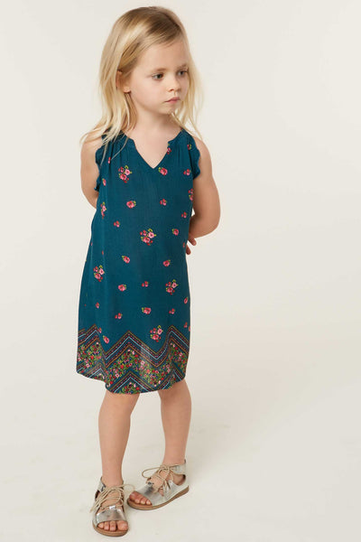 LITTLE GIRLS FIREFLY DRESS